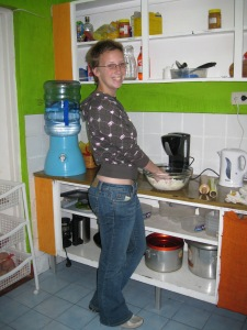 Kitchen Ali! (Commit this to memory, it may not ever happen again)